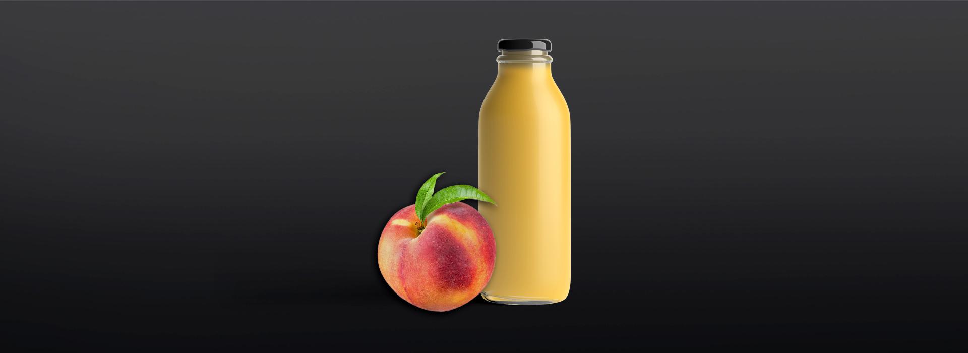 Sraml-Peach-puree